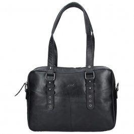 Dámská kožená kabelka Justified Makalu - černá