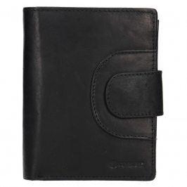 Pánská kožená peněženka Diviley Timmy - černá