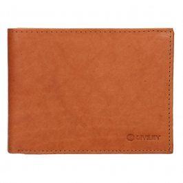 Pánská kožená peněženka Diviley Peter - koňak