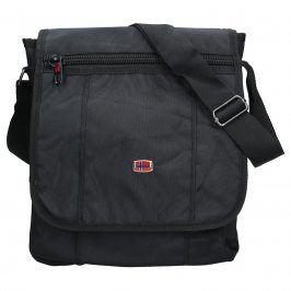 Pánská taška přes rameno New Rebels Pier - černá