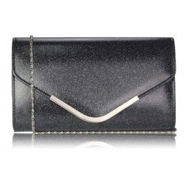Dámska listová kabelka LS Fashion Kaila - čierna