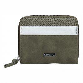 Dámská peněženka Tamaris Khemma Zip - zelená (khaki)