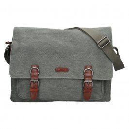 Pánská taška Katana Bredly - zeleno-šedá
