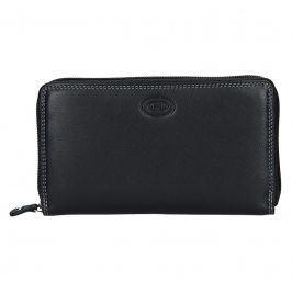 Dámská kožená peněženka DD Anekta Nikol - černá
