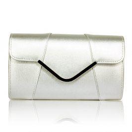 Dámské psaníčko LS Fashion Shine - stříbrná