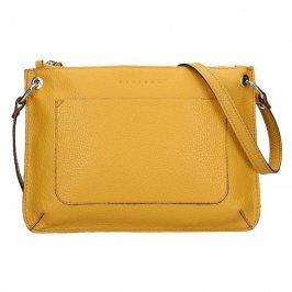 Trendy dámská kožená crossbody kabelka Facebag Nicol - hořticová
