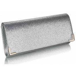 Dámské psaníčko LS Fashion Mollie - stříbrná