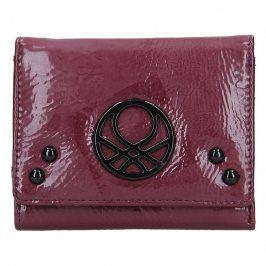 Dámská peněženka United Colors of Benetton Starlet - Vínová