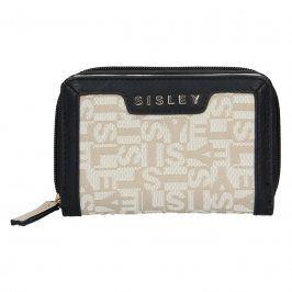 Dámská peněženka Sisley Glory - černo-béžová