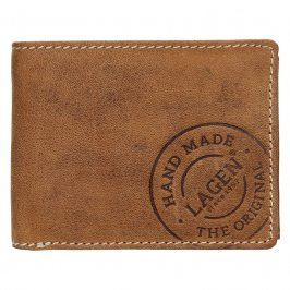 Pánská kožená peněženka Lagen Jerone - hnědá