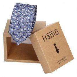 Pánská kravata Hanio Owen - modrá