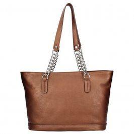Dámská kožená kabelka Facebag Marriika - hnědá