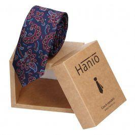 Pánská kravata Hanio Logan - modrá