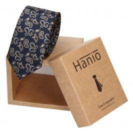 Pánská kravata Hanio Tyler - modrá