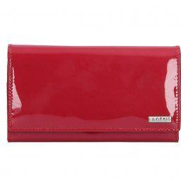 Dámská kožená peněženka Lagen Aisha - červená