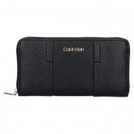 Dámská kožená peněženka Calvin Klein Alessia - černá