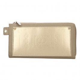 Dámská peněženka Doca 65199 - zlatá