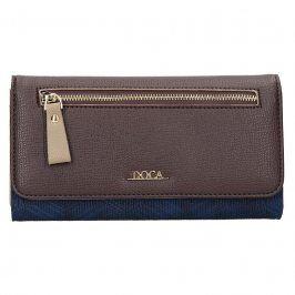 Dámská peněženka Doca 65140 - modro--hnědá