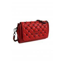 Dámská crossbody kabelka Doca 14373 - červená