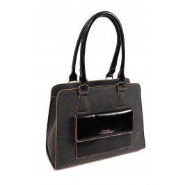 Dámská kabelka Doca 14168 - černá