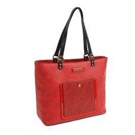 Dámská kabelka Doca 13941 - červená