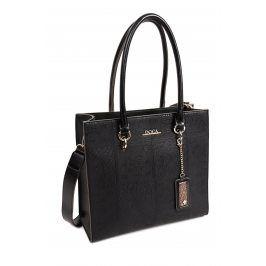 Dámská kabelka Doca 13864 - černá