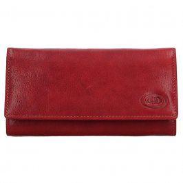Dámská kožená peněženka DD Anekta Eliška - červená
