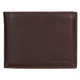 Dámská kožená peněženka SendiDesign Carlos - hnědá