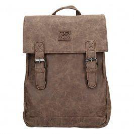 Moderní dámský batoh Enrico Benetti Vilma - tmavě hnědá