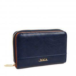 Dámská peněženka Doca 64500 - tmavě modrá