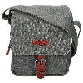 Pánská taška Katana Olson - zeleno-šedá