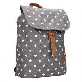 Trendy batoh New Rebels Star - šedá