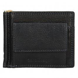 Panská kožená dolarovka SendiDesign Fredy - černá