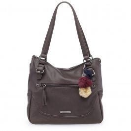 Dámská kabelka Tamaris Mai Shopping Bag - tmavě hnědá