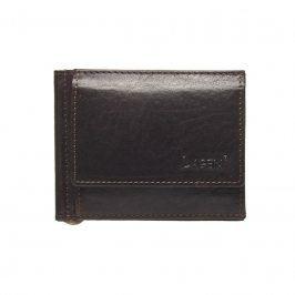 Pánská kožená peněženka Lagen Dolarro - tmavě hnědá