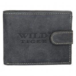 Pánská kožená peněženka Always Wild Coffe - černá