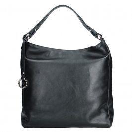 Dámská kožená kabelka Facebag Margaret - černá