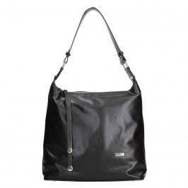 Dámská kožená kabelka Facebag Fionna glassy - tmavě hnědá