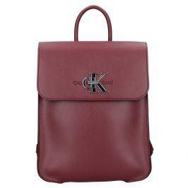 Dámský batoh Calvin Klein Lussy - vínová