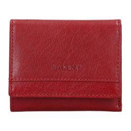 Dámská kožená peněženka Lagen Ela - červená