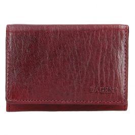 Dámská kožená peněženka Lagen Jalena - vínová