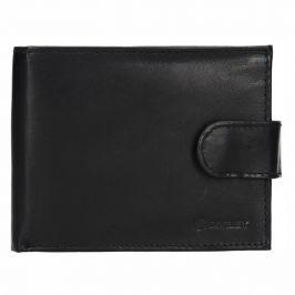 Pánská kožená peněženka Diviley Marek - černá