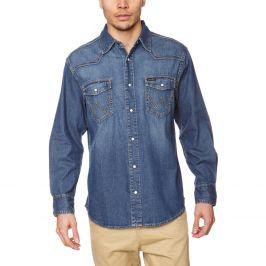 Wrangler pánská jeansová košile W550OUA14V Modrá XXXL