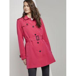 Tom Tailor dámský jarní kabát - Trenchcoat 1016747/13127 Růžová XL