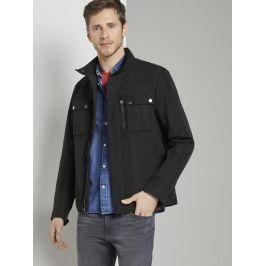 Tom Tailor pánská jarní bunda 1016606/29999 Černá XL