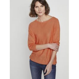 Tom Tailor dámský lehký svetr 1017845/22195 Oranžová XL