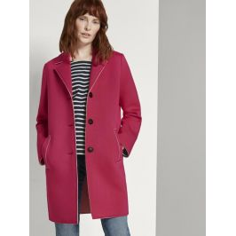 Tom Tailor dámský jarní kabát 1016760/13127 Růžová M