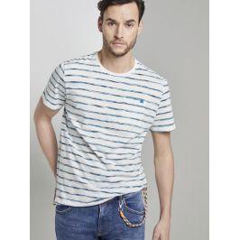 Tom Tailor pánské tričko 1018127/22375 Multi XL