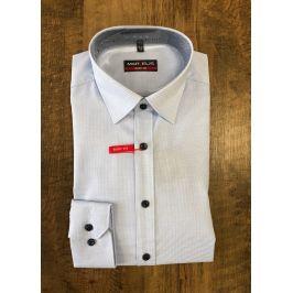 Marvelis společenská košile s dlouhým rukávem 7504/54/11 Modrá 39