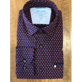 Pierre Cardin košile FutureFlex s dlouhým rukávem 27125/9027 Modrá L